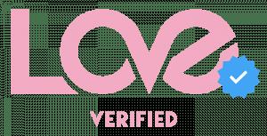 love verified logo
