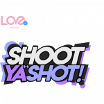 love verified shoot ya shot logo